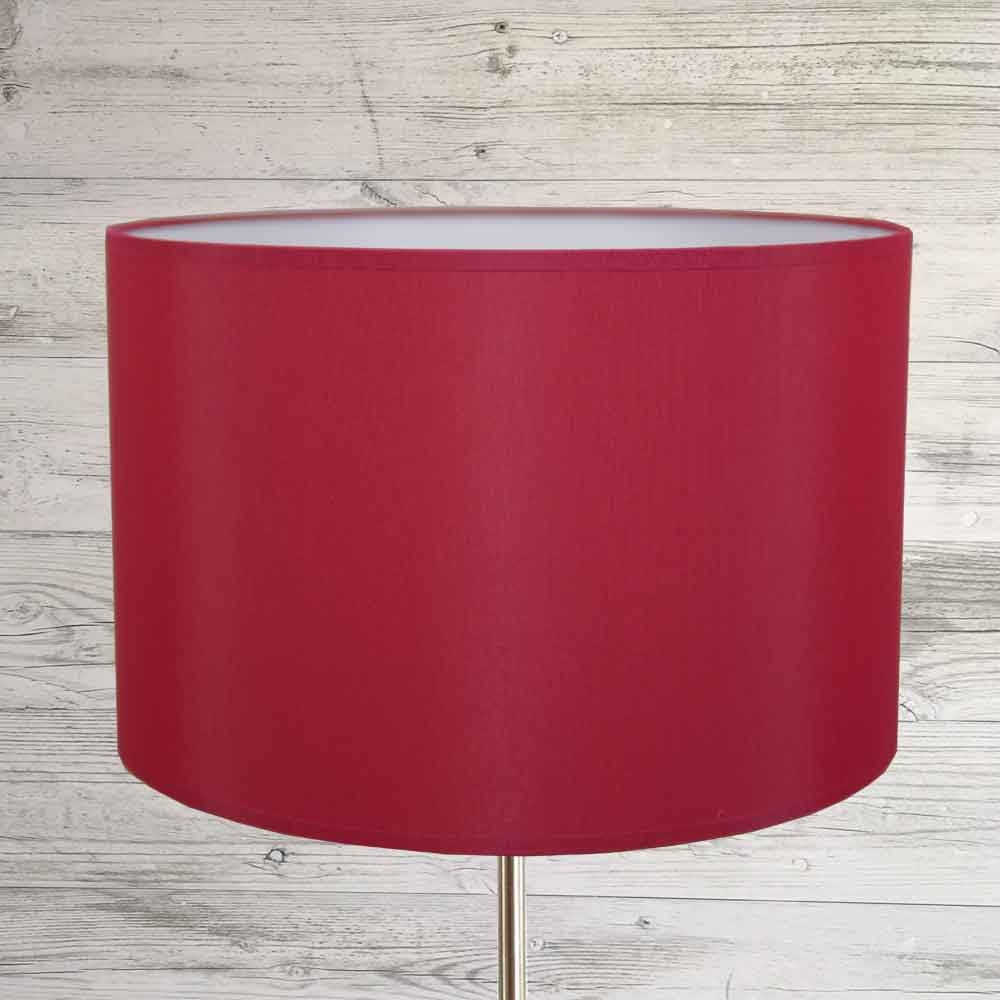 Drum Shade Brick Red